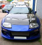 Customised Toyota Supra - awesome power